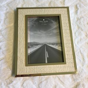 Kate Spade 5x7 Picture Perfect Gold Frame NWT